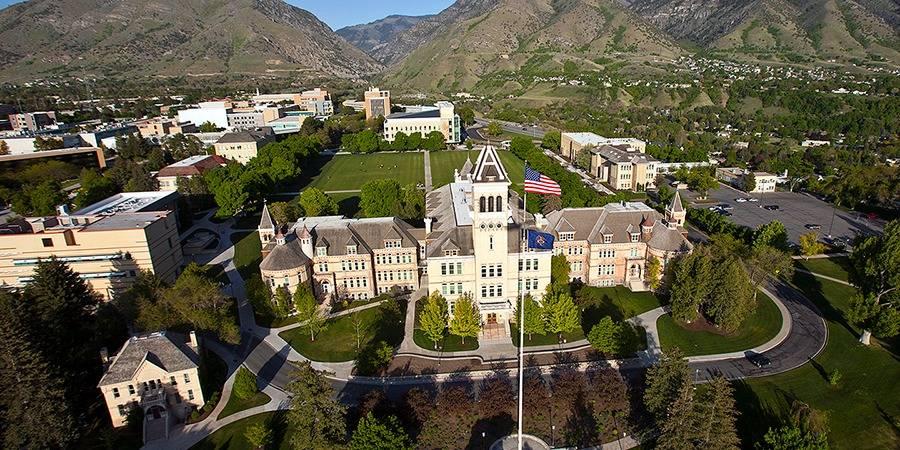Old Main Building at Utah State University
